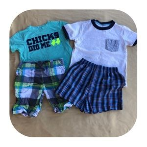 2T Carter's 2 outfits bundle